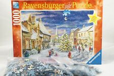 Ravensburger Christmas Village Holiday Puzzle 1000 pieces Limited Ed Complete