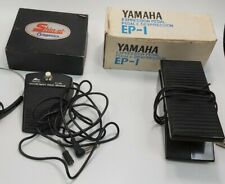 Yamaha Expression Pedal EP-1 And Shin-ei Companion Music Pedals #989