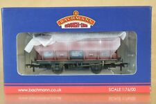 BACHMANN 38-500 WEATHERED BR BAUXITE COVHOP COVERED HOPPER WAGON B870812 py