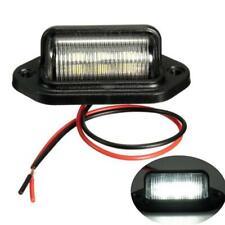 1pc Waterproof 6 LED 12V License Plate Light Car Boat Truck Trailer Step Lamp