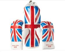 Kids England Training Boxing Set includes 10oz Gloves and Mini Punch Bag NEW