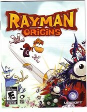 REPLACEMENT french manual ONLY (NO GAME) for RAYMAN ORIGINS PLAYSTATION 3 PS