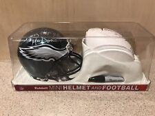Tommy McDonald Signed Philadelphia Eagles NFL Mini Helmet & Mini Football, HOF