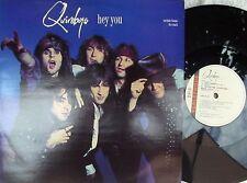 Quireboys ORIG UK PS 12 Hey you NM '89 Parlophone Hair Metal Rock