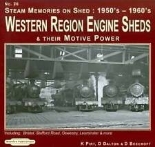 Steam Memories 1950's-1960's Western Region Engine Sheds: No. 26: and Their Moti