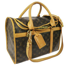 Auth LOUIS VUITTON Sac pour Chien 50 Pet Caryy Hand Bag Monogram M42021 A32698