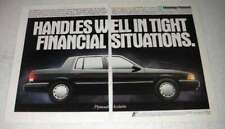 1992 Plymouth Acclaim Ad - Financial Situations