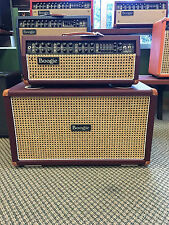 Mesa Boogie Mk V Head in British Cabernet  w/ matching 2x12 Horizontal Recto Cab