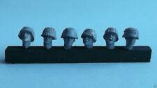WWII German Head Set 2, Wee Friends WH35006, Resin 1/35