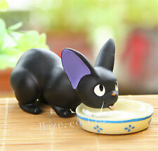 Kiki's Delivery Service Jiji Black Cat Kitten Resin Figure Home Décor