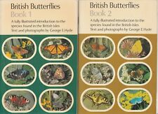 BRITISH BUTTERFLIES 2 Books 1 & 2 George E Hyde **GOOD COPIES**