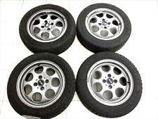 4x complete wheels Aluminum rim 175/65R15 4X100 4.5-6.2mm Mini Cooper R50
