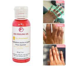 RED PEELING OIL- Traitement des mains,phalanges, pieds, coudes foncés-60 ml