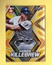 2017 Topps Fire HARMON KILLEBREW Orange Flame Parallel Insert SP Mint  184/299