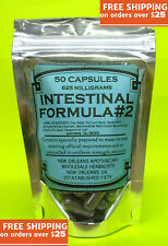 Intestinal Formula #2 Capsules(SUPER COLON CLEANSE*DETOX*WEIGHT LOSS*NO FILLERS