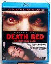 DEATH BED THE BED THAT EATS Blu-ray NEW & SEALED Cult Epics UNRATED REGION FREE
