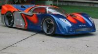 Carrozzeria Body JAGUAR XRS 1/8 Scala GT2 RC car+ alettone/SPOILER  360mm