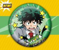My Hero Academia Anime SD Izuku Midoriya Deku Ansteckbutton offiziell Manga 58mm