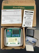 New listing Rain Bird Esp-Rzx 4 Station Indoor Lawn Sprinkler Control Brand New