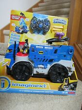 Fisher Price Imaginext R/C Mobile Command Center Batman Batwing Launch Remote