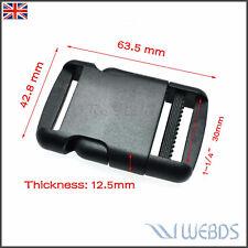 """30mm 1-1/4"""" Webbing Adjustable Side Release Buckle Strap Hiking Camping Backpack"""