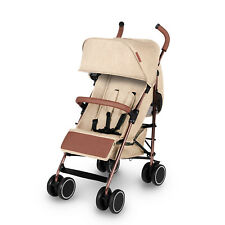 Ickle Bubba Discovery Stroller in Cream on Rose Gold – Stroller, Pram & Buggy