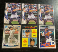 Jake Rogers RC Lot(6) 2020 Topps Detroit Tigers