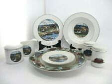 "Epoch Exclusives E203 ""Pioneer Bay"" Dinnerware Set"