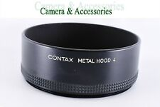 【MINT】 Contax Metal Hood 4 for 86mm Screw-in Type from Japan: CNTXHDM-2