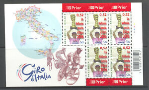 BELGIUM 2006 giro d'italia cycling sheetlet MNH** 3515VEL