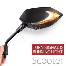 amber white LED mirror neat arm DRL indicator M8 for Suzuki scooter motorbike ε