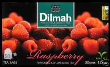 Dilmah Tee-Raspberry flavoured black Ceylon Tea 20 bustina del tè