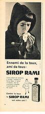 PUBLICITE ADVERTISING 014   1959   RAMI    sirop pour la toux