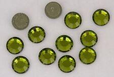 Swarovski hotfix 2012 olivine  Rhinestones 144 pieces  34ss