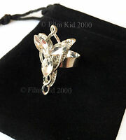 Arwen Evenstar Necklace RING HOBBIT LOTR Lord Of The Rings Elven Adjustable