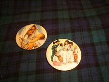 Vintage Upward Way Jesus Great Teacher/Mary Pin Lot Of 2 Pin Buttons