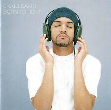 CRAIG DAVID : BORN TO DO IT / CD
