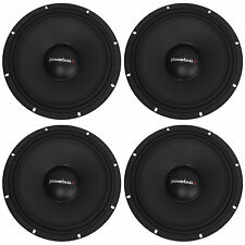 "New listing 4) PowerBass Xpro-10/8 10"" 2000W Pro Audio Midbass/Midrange Driver 8Ohm Speakers"