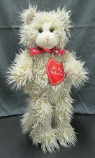 Vintage Polar Puff Special Effects 24K Plush Stuffed Cat - Be My Valentine - Toy