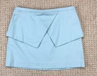 NWT Womens Tibi New York Skirt Size 6 Mint Green Retail $250