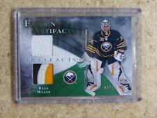 10-11 UD Frozen Artifacts Patch jersey RYAN MILLER /25