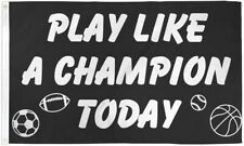 """New listing """"Play Like A Champion Today"""" 3x5 ft flag polyester"""
