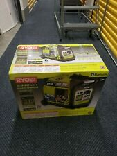 Ryobi Recoil Start Bluetooth Gasoline Powered Digital Inverter Generator with CO