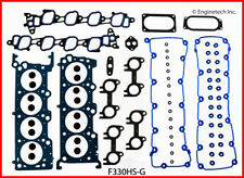 Engine Cylinder Head Gasket Set ENGINETECH, INC. fits 1999 Ford F-150 5.4L-V8