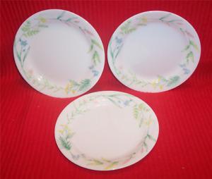 Acceny Salad Plates Corelle corelle My Garden set of 6 7 14 My Garden Plates