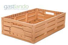 1 Stk Obst- Gemüsekiste Stapelbox Lagerkiste 60 x 40 x 16,5 cm Gastlando