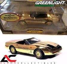 GREENLIGHT MMC 50809-06G GOLD 1:18 1986 CORVETTE INDY 500 PACE CAR DIECAST