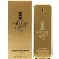 1 One Million Paco Rabanne Eau de Toilette 100ml for Men Spray Perfume
