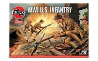 AIRFIX 729 1/76 WWI US Army Doughboys 48 Plastic Toy Soldiers NEW MIB FREE SHIP