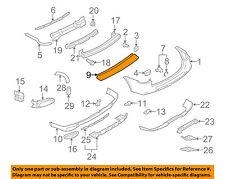 PORSCHE OEM 08-10 Cayenne Rear Bumper-Finish Plate 95550578710